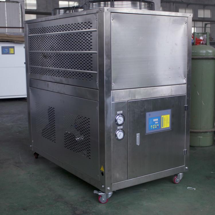 不锈钢10HP风冷冷水机